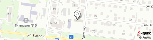 Академия социального образования на карте Зеленодольска
