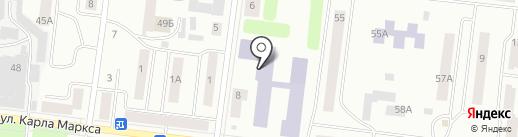 Зеленодольский институт машиностроения и информационных технологий на карте Зеленодольска