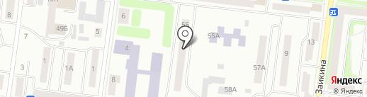Дива на карте Зеленодольска