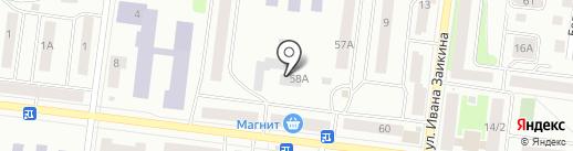 Людмила на карте Зеленодольска