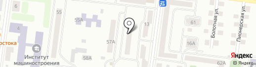 Поликлиника №4, ЦРБ на карте Зеленодольска
