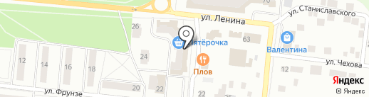 А-МЕГА на карте Зеленодольска