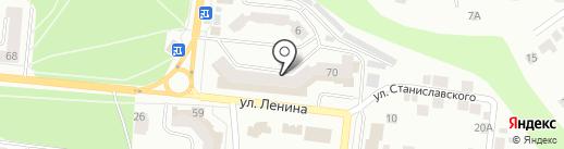 ГИБДД г. Зеленодольска на карте Зеленодольска