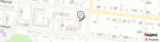 Уголовно-исполнительная инспекция УФСИН России по г. Зеленодольску и Зеленодольскому району на карте Зеленодольска