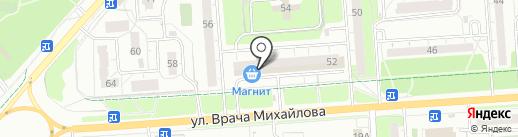 Магазин детской одежды и игрушек на карте Ульяновска