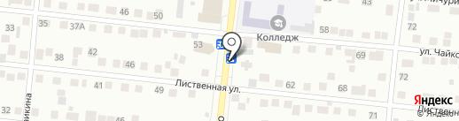 Мясной магазин на карте Зеленодольска