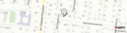 Оптовая база комбикормов на карте Зеленодольска