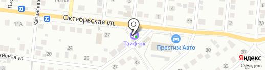 АЗС Автодорстрой на карте Зеленодольска