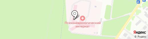 Психоневрологический интернат на карте Зеленодольска