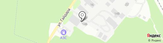 Спец-Гараж на карте Зеленодольска