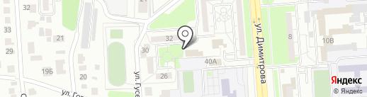 Участковый пункт полиции на карте Ульяновска