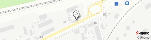 РБУ на карте Зеленодольска