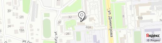 ЕВРО-СТРОЙ-СЕРВИС на карте Ульяновска