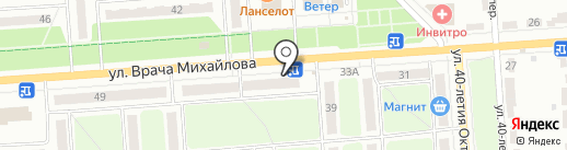 Иртыш на карте Ульяновска