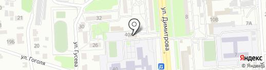 Элита на карте Ульяновска
