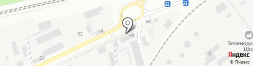 ЗВКС на карте Зеленодольска