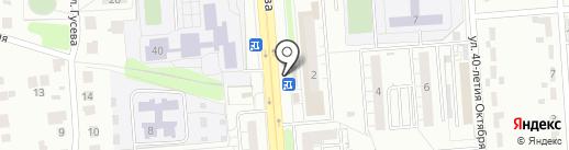 Пекарня на карте Ульяновска