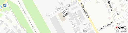 Атрий на карте Зеленодольска