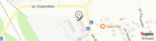 Мидем на карте Зеленодольска