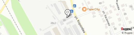 Втормет-Индустрия на карте Зеленодольска