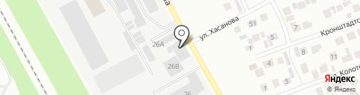 Прачка для тачки на карте Зеленодольска