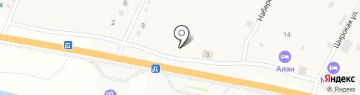 Автобаза на карте Исаково