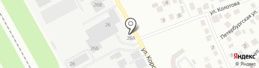 КРУТОРУМ на карте Зеленодольска
