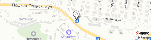Зеленодольский завод силикатного кирпича на карте Зеленодольска