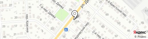 Автоцентр на карте Ульяновска