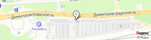 АвтоКорея на карте Ульяновска