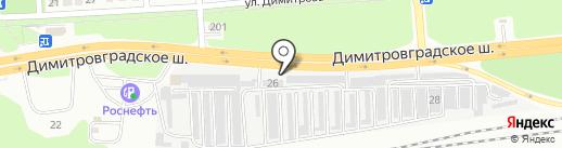 Мир шин на карте Ульяновска