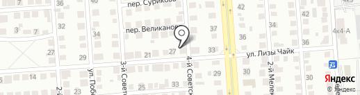 Кабинет визажиста на карте Ульяновска