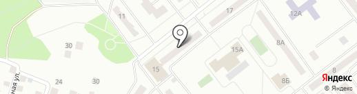 Малютка на карте Зеленодольска