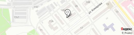 Альфа на карте Зеленодольска