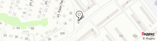 Метелица на карте Зеленодольска