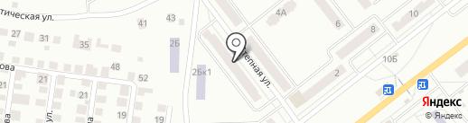 Библиотека №1 на карте Зеленодольска