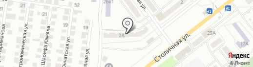 Почтовое отделение №11 на карте Зеленодольска