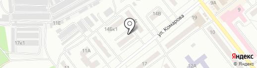 Багира на карте Зеленодольска
