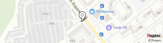 Центр авторазбора на карте Зеленодольска