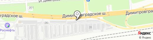 СпецТехМас на карте Ульяновска