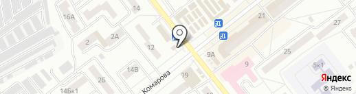 Киоск по продаже цветов на карте Зеленодольска