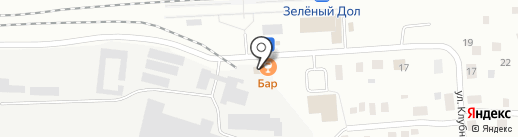 Бар на Кооперативной на карте Зеленодольска