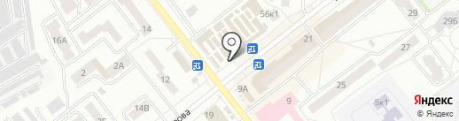 DeLux на карте Зеленодольска