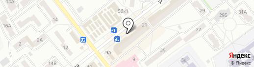 Почтовое отделение №5 на карте Зеленодольска