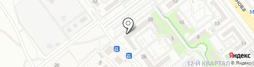 Альфа-Лидер на карте Ульяновска