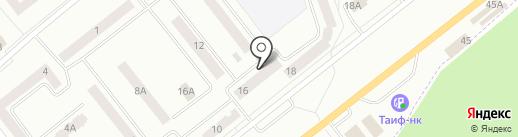 Банкомат, АК БАРС БАНК на карте Зеленодольска