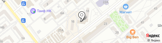 DOMO на карте Зеленодольска