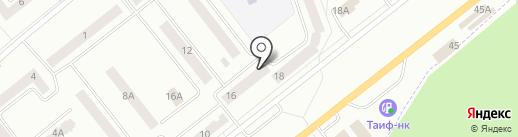 Банкомат, Татфондбанк, ПАО на карте Зеленодольска