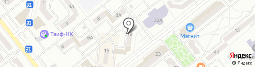 Грация на карте Зеленодольска