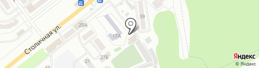 Столичная на карте Зеленодольска